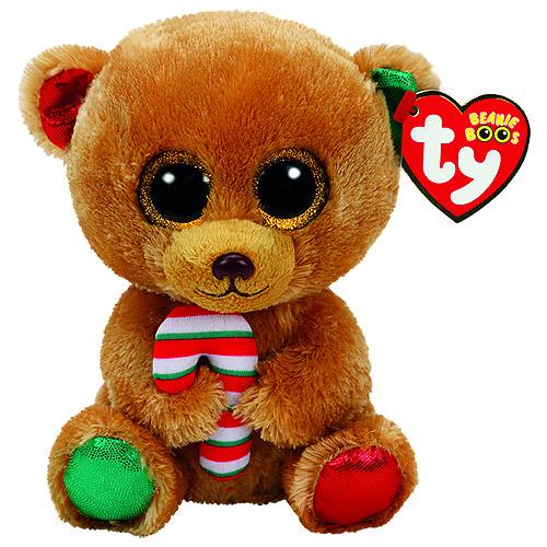 41feff3a5a1 Ty Beanie Boos - Bella Christmas Brown Bear (Medium).  BeanieBoogilda XmasBrownBear