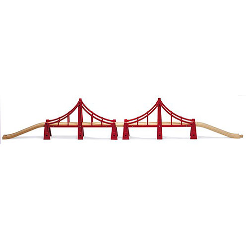 BRIO Double Suspension Bridge (5 pieces)