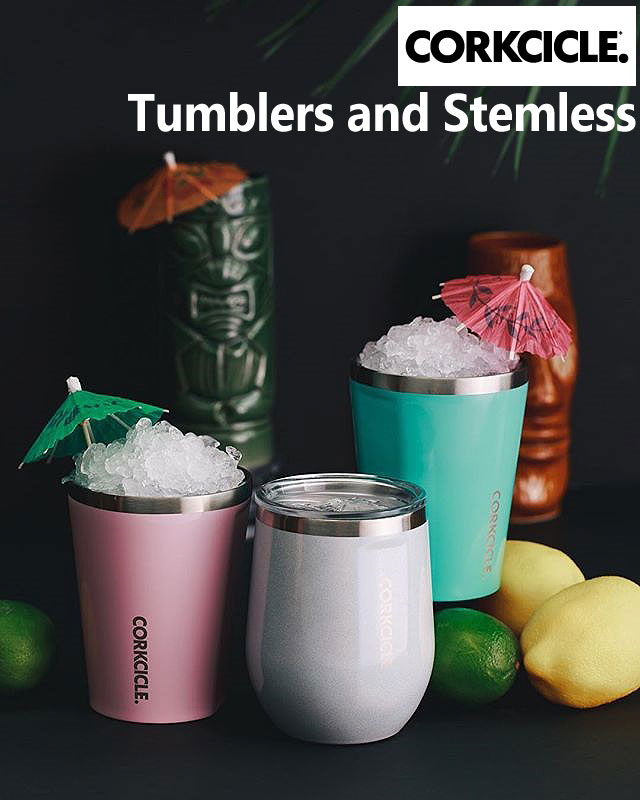 Corkcicle 12oz (350ml) Tumbler and Stemless Selection