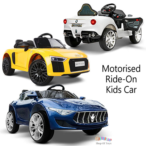 Motorised Electric Ride-On Kids Car Selection (3+ years)