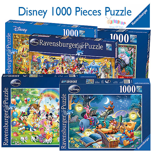 Ravensburger Disney and Pixar 1000 Pieces Puzzle Selection
