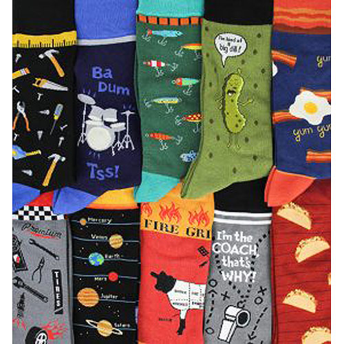 Foot Traffic Novelty Socks