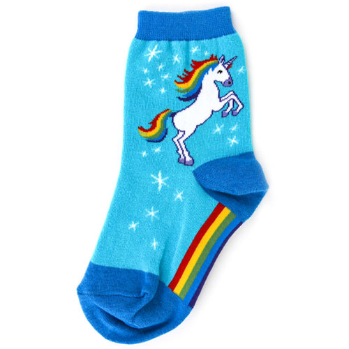 Unicorn Socks - Youth (shoe size 12-5Y)