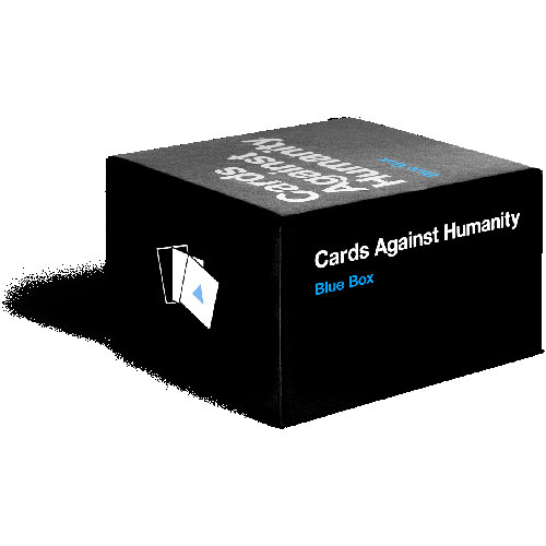 Cards Against Humanity - Blue Box Expansion Pack (18+ years)