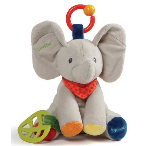 Gund Flappy Elephant Activity Toy (0+ years)