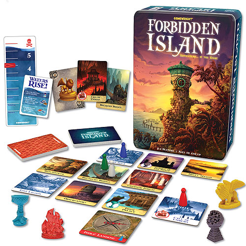 Forbidden Island Cooperative Game (10+ yrs, 2-4 players)