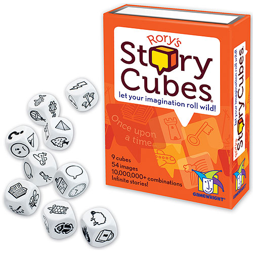 Rory's Story Cubes (6+ yrs, 1+ Player)