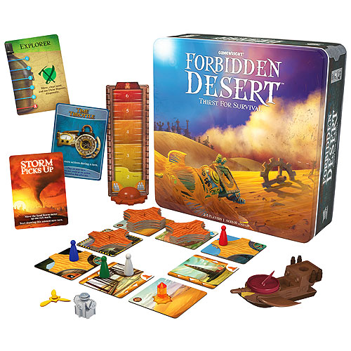 Forbidden Desert Cooperative Game (10+ yrs, 2-5 players)