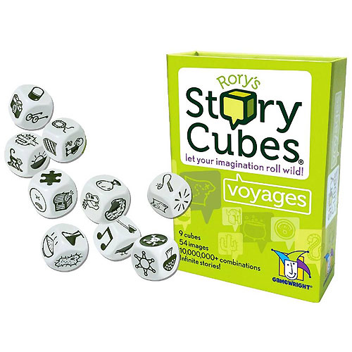 Rory/'s Story Cubes Voyages Let Your Imagination Roll Wild by Gamewright GWI 320