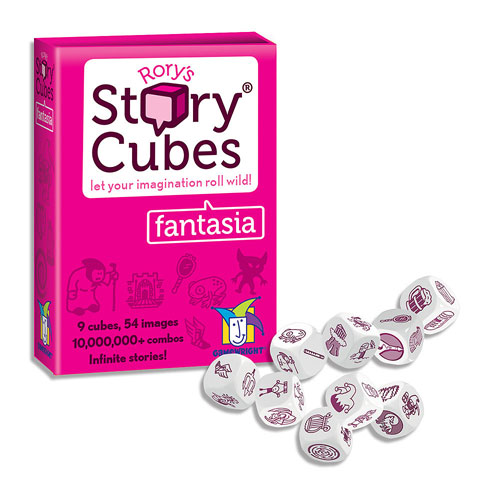 Rory's Story Cubes - Fantasia (8+ yrs, 1+ player)