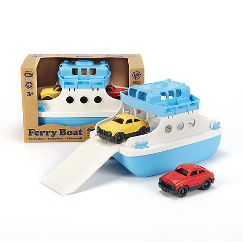 Green Toys® Ferry Boat (with 2 cars)