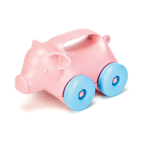 Green Toys® Pig Push Toy