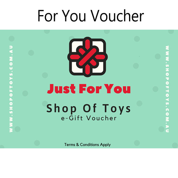 $50 e-Gift For You Voucher