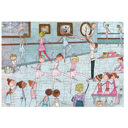 Ballet Studio Puzzle 100 Pieces 6 Yrs