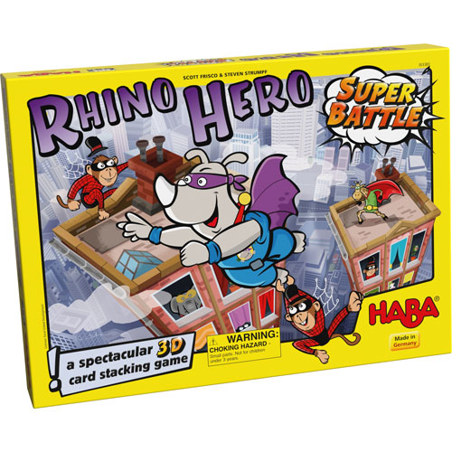 HABA Rhino Hero Super Battle (5+ yrs, 2-4 Players)