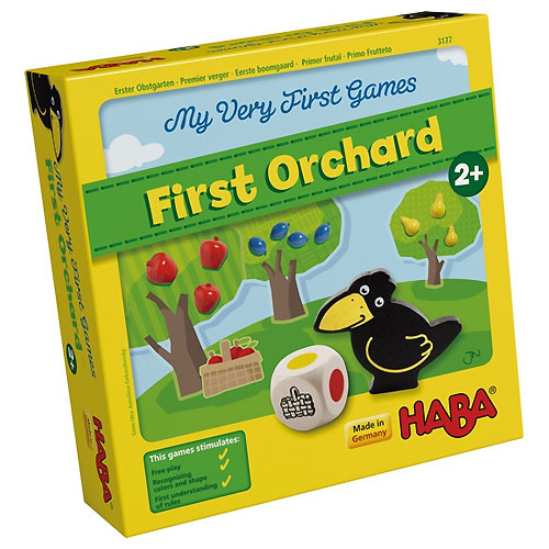 HABA My Very First Games - My First Orchard (Cooperative Game, 2+ yrs, 1-4 players)