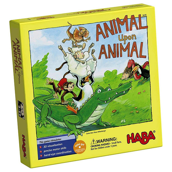 HABA Animal Upon Animal (4+ yrs, 2-4 players)