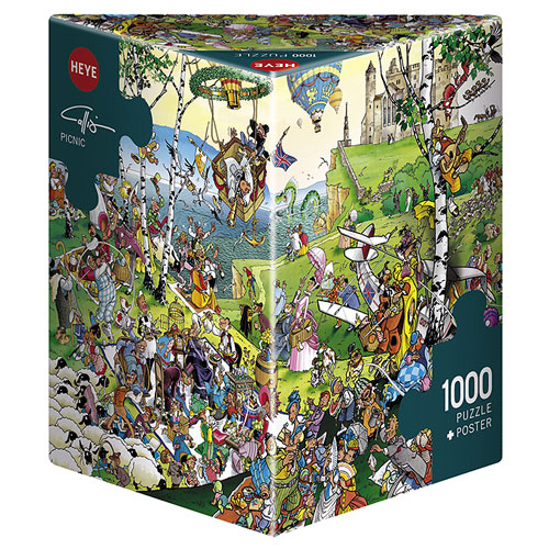 Heye Puzzle - Picnic by G Calligaro (1000 pieces)