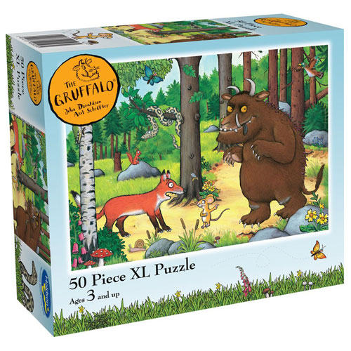 Gruffalo 50pc XL puzzle - Why Fox Hello