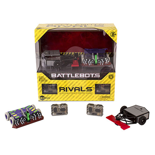 HEXBUG BattleBots - Rivals - Tombstone and Witch Doctor (8+ yrs)