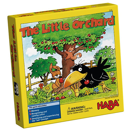 HABA The Little Orchard Game (Cooperative and Memory Game, 3-8 yrs, 1-4 players)