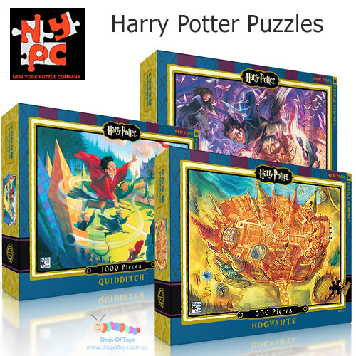 Harry Potter Puzzles by NY Puzzle Company Selection