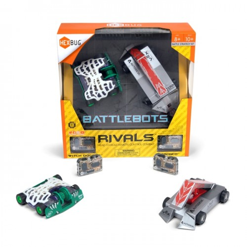 HEXBUG BattleBots - Rivals - Witch Doctor vs Bronco (8+ yrs)