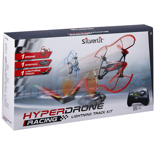 Silverlit Flying HyperDrone Racing Lightning Track Kit (1 x Drone)