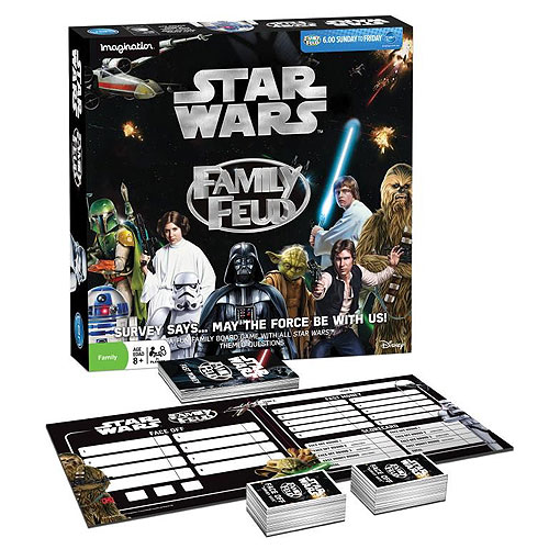 Family Feud Board Game - Star Wars Edition (8+ yrs, 3+ Players)