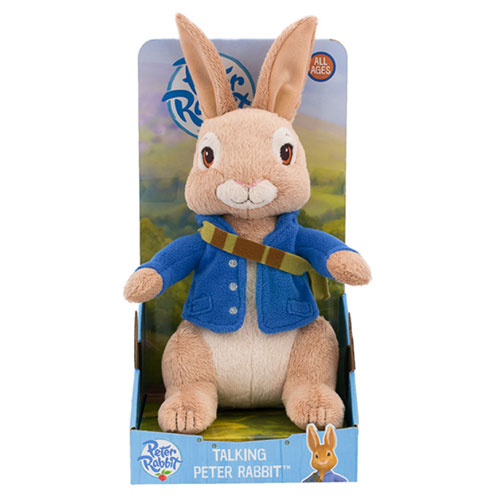 Peter Rabbit - Talking Peter Rabbit Plush (25cm)