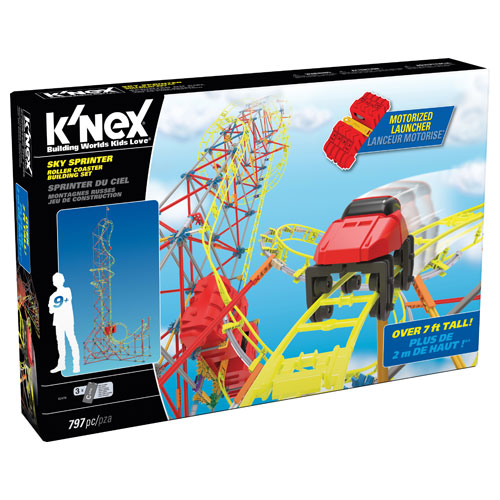 K'Nex Thrill Ride Series : Sky Sprinter Set (9+ yrs)