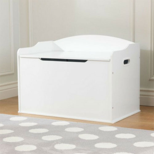 KidKraft Austin Toy Storage Box - White