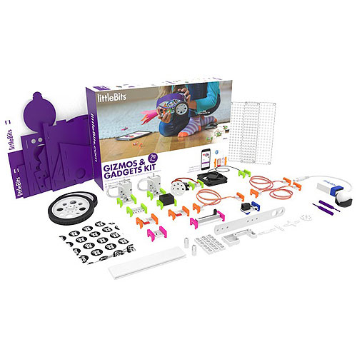 littleBits - Gizmos and Gadgets Kit (2nd Edition, 8+ yrs)