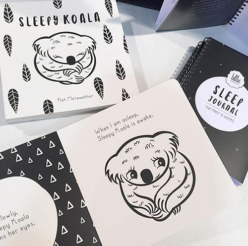 Little + Sleepy Koala Book