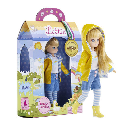 Muddy Puddles Lottie Doll (18cm)