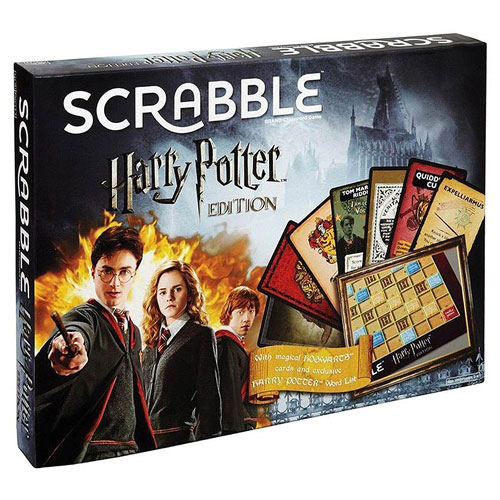 Harry Potter Scrabble Board Game (10+ yrs, 2-4 Players)