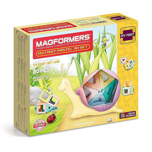 Magformers My First Pastel - 30 Pieces Set (18+mths)