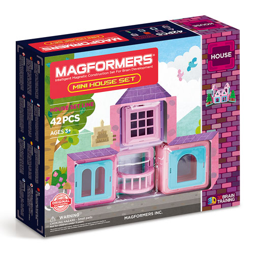 Magformers House Series - Mini House Set (42 pieces, 3+ yrs)