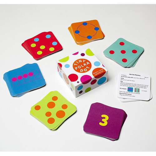Tiny Polka Dot - Number Loving Card Game (3 - 8 years)