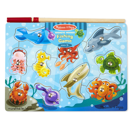 Melissa & Doug - Magnetic Fishing Game (3+ years)