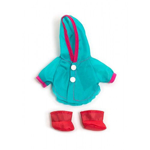 Miniland 21cm Doll Clothes Set - Raincoat and Wellies