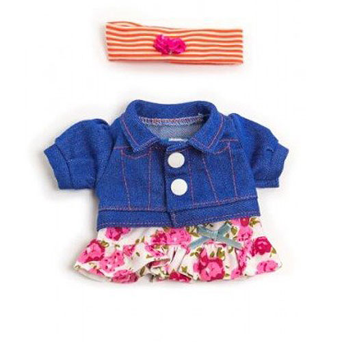 Miniland 21cm Doll Clothes Set - Spring Flower