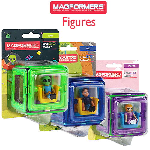Magformers Figure Plus Selection (3+ yrs)