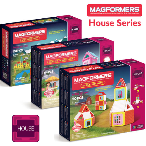 Magformers House Series Selection (3+ yrs)