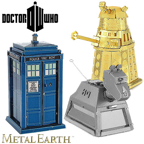 Metal Earth - Dr Who 3D Model Selections (14+ yrs)