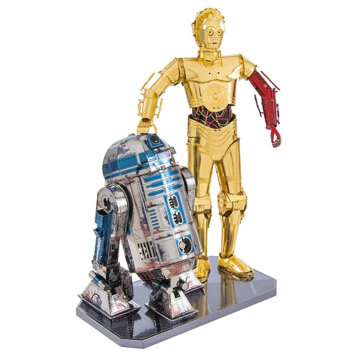 Metal Earth - C-3PO and R2D2 Set