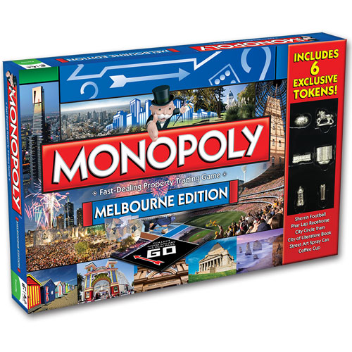 Monopoly - Melbourne Edition (8+ yrs)
