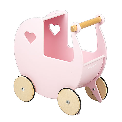 Moover Toys Dolls Pram - Light Pink