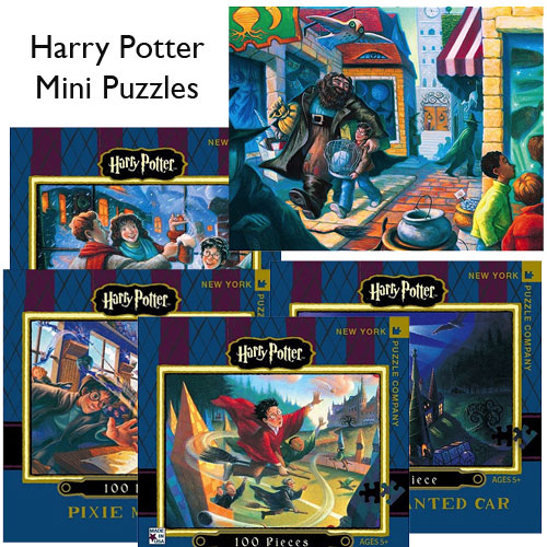 Harry Potter Mini Puzzles by NY Puzzle Company Selection (5+ yrs)