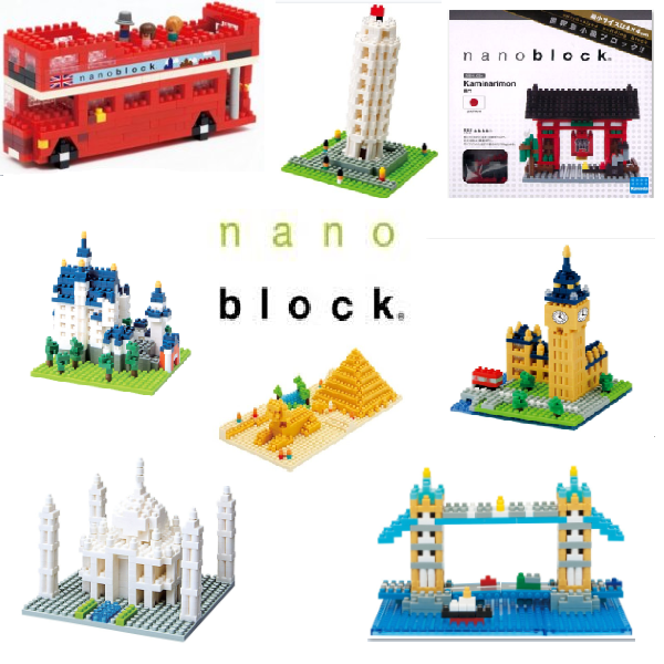 nanoblock™- Sites to See Series